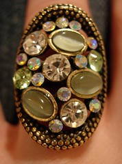 Bling bling Accessorize ring