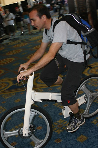 Mark Sanders folding bike