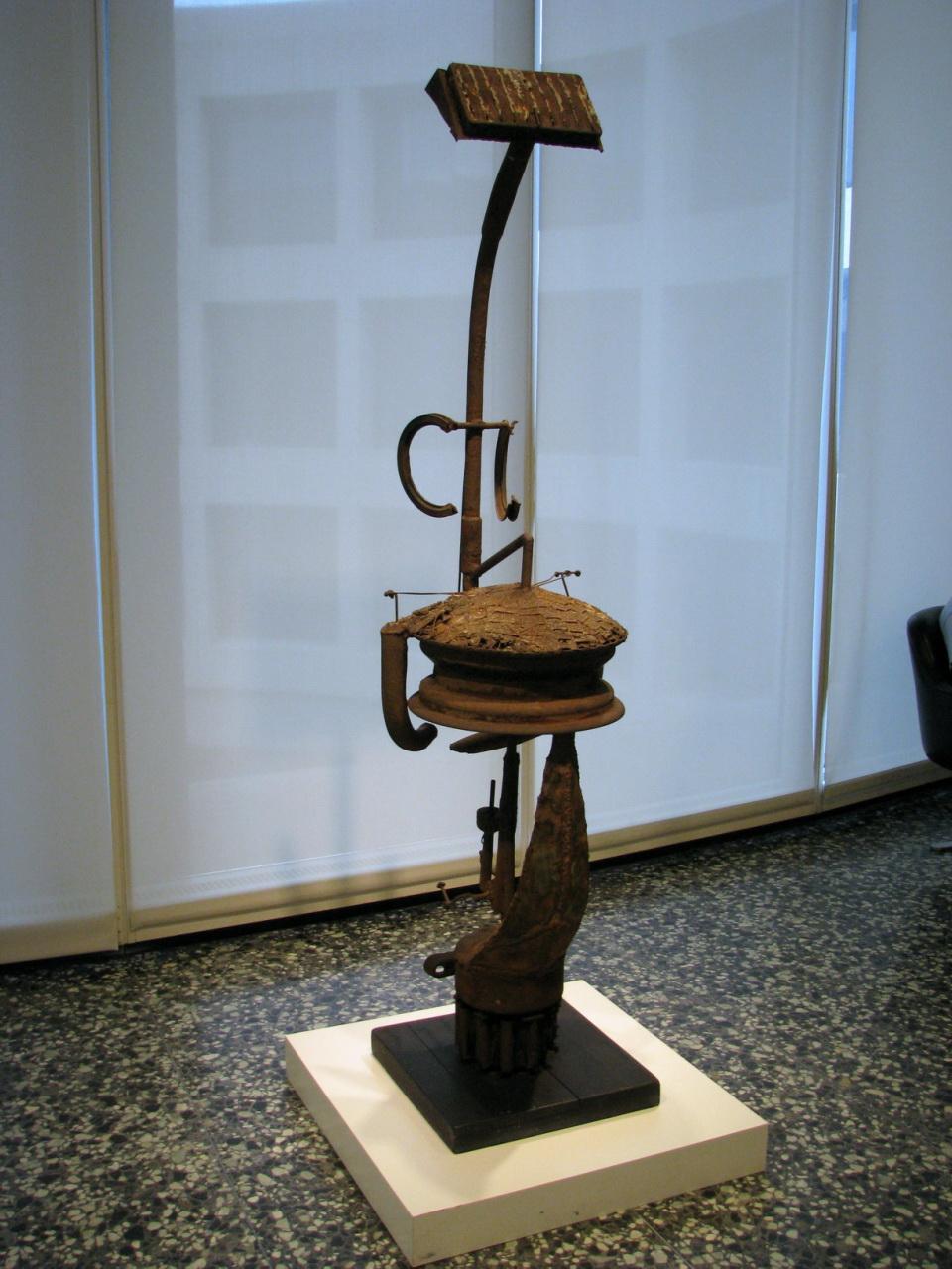 理查德 斯斯坦凯维奇Richard Stankiewicz(美国 1922-1983)雕塑作品集1 - 刘懿工作室 - 刘懿工作室 YI LIU STUDIO