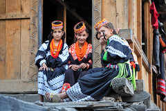 Children of Kalash (Max Loxton) Tags: pakistan black beauty children photographers valley pakistani beauties ppg kalash chitral yasirnisar kalashi