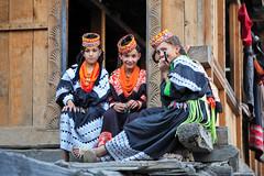 Children of Kalash (Max Loxton) Tags: pakistan black beauty children photographers valley pakistani beauties ppg kalash chitral yasirnisar kalashi