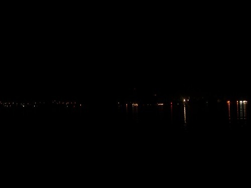 Lights across the Thunersee
