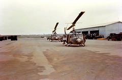 Gunships of the 336th AHC Soc Trang (Nigel Smuckatelli) Tags: war conflict combat gunship vietnamwar southvietnam uh1b