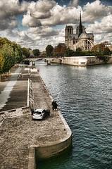 Notre Dame de Paris ii - Topaz Adjust Dramatic (Torcello Trio) Tags: travel paris france 75004 topazadjust