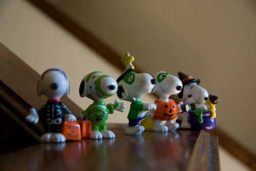 2008-10-11 Halloween Snoopys PVC-6