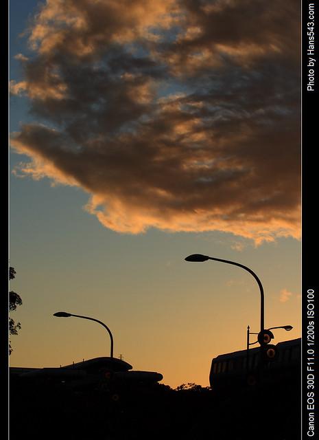 動物園外的天空_The sky ouside Taipei zoo_02