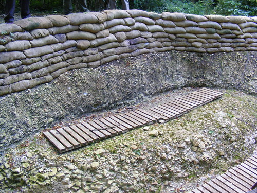trenches in world war 1. of the World War 1 Battle
