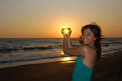 Day 108 (love) (Suarez Leandro) Tags: sunset sky sun love sol beach turkey atardecer heart playa antalya cielo 365 vacaciones turquia corazon alanya bestflickrphotography