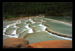 calcification (archbaker) Tags: nature water river creation cascade kartpostal anawesomeshot anawesome