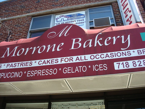 Morrone Bakery, Bronx