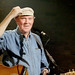 Liam Clancy enjoying a hero's welcome @ The Bitter End