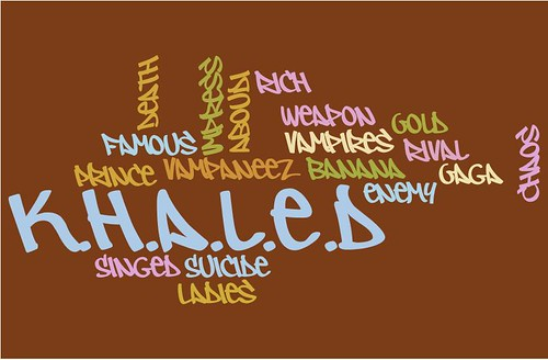 Khaleds wordle words