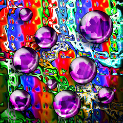 crystal glass (tauras101) Tags: reflection photoshop colorart theunforgettablepictures colourartaward tauras101