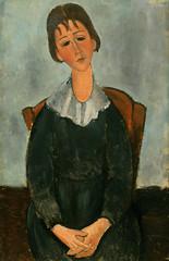 少女の肖像(ユゲット)