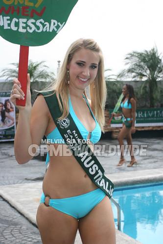 Miss Earth 2008: Miss Australia in bikini