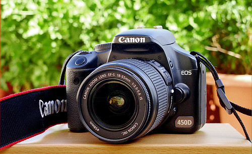 My Canon EOS 450D  (Rebel XSi)