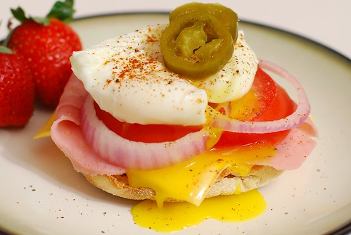Poached egg bonanza!