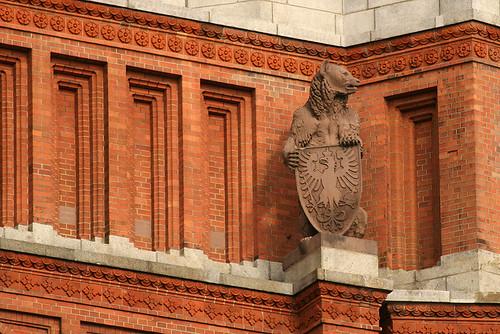 Berliner Bär am Roten Rathaus