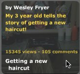 Rachel's Getting a New Haircut VoiceThread: Now over 15,000 views