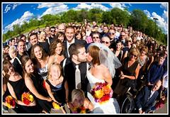 Everyone (fensterbme) Tags: wedding work groom bride interestingness fisheye 5d groupphoto weddingphotography fensterbme primelens interestingness145 i500 strobist canonfisheye canon15mmf28 canon15mmf28fisheye fenstermacherphotography curvilinearlens columbusohioweddingphotographer brownsontvergyakwedding explore13nov08