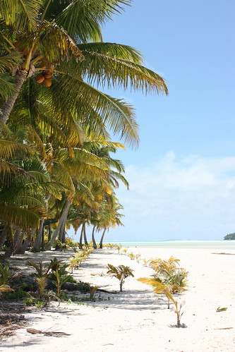 One Foot Island, Aitutaki Lagoon, Cook Islands