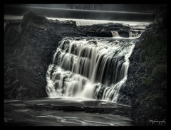 Fall Out (Jules Marcoux Photography) Tags: nature water colors landscape flow falls filter saturation density neutral ndfilter