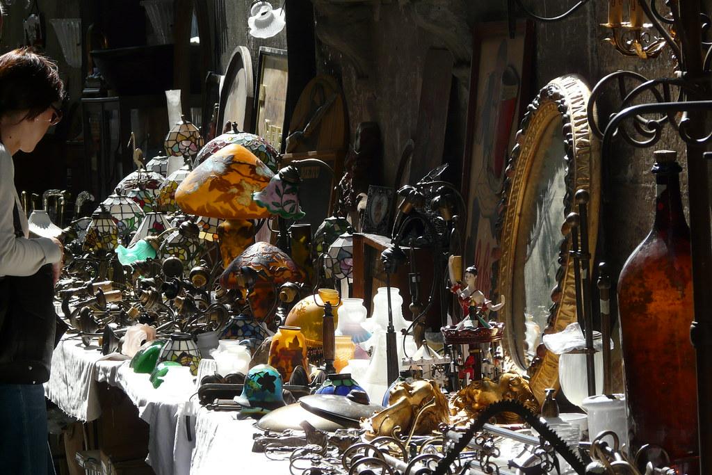 Flohmarkt in Lucca