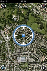 Google Earth locatiebepaling via wifi (foto door: PiAir (Old Skool))