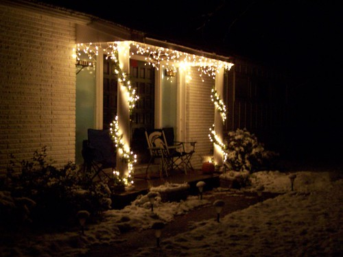 Porch Christmas Lights 1