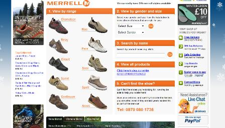 Fitness footwear - search by brand