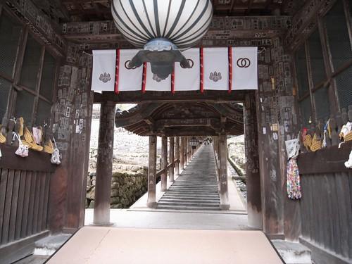 長谷寺「登廊」