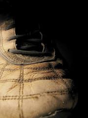 spiderman shoe (Maʝicdölphin) Tags: brown canon shoe powershot shade myshoe a590