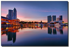 The Marketplace at Dusk (Fraggle Red) Tags: pink sunset orange clouds reflections boats evening downtown florida miami dusk restaurants yachts jpeg hdr aaa canonefs1022mmf3545usm tourboats wonderworld blueribbonwinner triplea baysidemarketplace mouseion supershot americanairlinesarena 3exp abigfave anawesomeshot miamidadeco betterthangood theperfectphotographer dphdr worldwidelandscapes guasdivinas panoramafotogrfico flickrclassique yachtparking