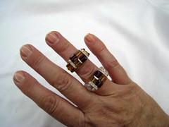 Anillos SW amatista y topacio (isa.abalorios) Tags: anillos