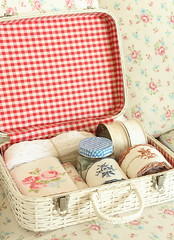 thrift basket (cottonblue) Tags: white house art home rose japan corner vintage design living cozy bedroom basket apartment display furniture interior cottage decoration style livingroom coastal thrift bazzar interiordesign smallspace shabbychic homefurnishing homedecoration homedesign thrfit fleamarketstyle vintagedecoration cottonblue homedressing bazzarstyle lifecountryshabbyinterior