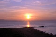Sunrise over Isle of White on a cold December morning (paulinuk99999 (I'm back!!)) Tags: christchurch sunrise hampshire isleofwight dorset coastline bournemouth hengistbury iow variosonnar16803545za alpha700 paulinuk99999