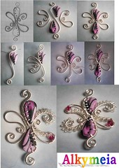 Tutorial Wire Work and Polymer Clay (Alkhymeia) Tags: art project diy beads handmade jewelry jewellery polymerclay fimo clay howto handcrafted lesson tutorial artesania tuto stepbystep polymer wirework perline bijouterie metallo wirewrapped artigianato ciondolo bizuteria polimerica arcillapolimerica pasoapaso filometallico pastasintetica alkhymeia
