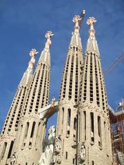 Barcelona 091 (OrliPix) Tags: barcelona church architecture spain culture spanish gaudi catalunya touristattraction cultural catalan religiousbuilding lasagardafamilia barriodesagradafamilia
