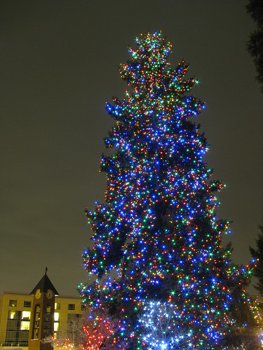 Esther Short Christmas Tree Lighting Ceremony