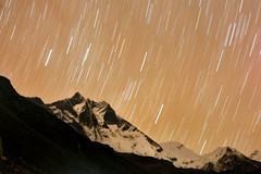 Star Trails over Dingboche, Nepal (amd300466) Tags: nepal stars startrails everestbasecamptrek dingboche himalayanmountains