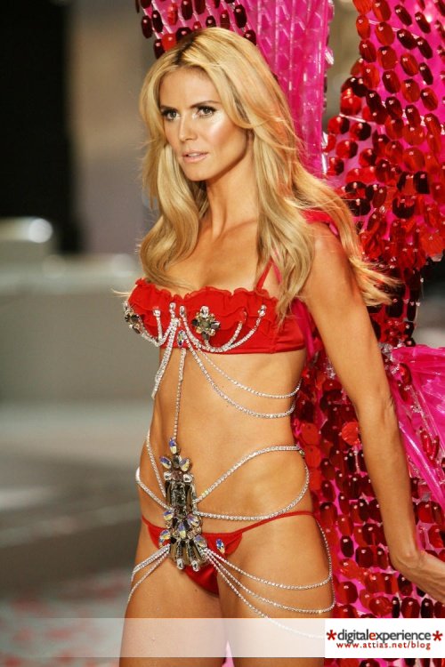 Heidi Klum angel Victorias Secret