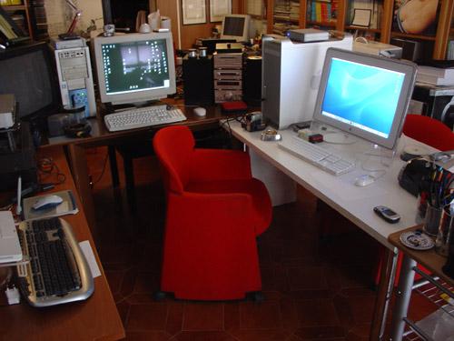 studio mac desk computers