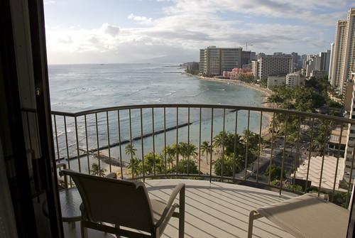 Waikiki Marriott - View from the lanai