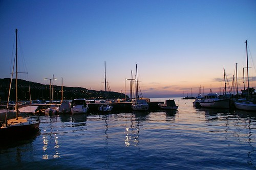 """Koper (Capodistria) - Sunset at Harbour • <a style=""""font-size:0.8em;"""" href=""""http://www.flickr.com/photos/26679841@N00/3107696827/"""" target=""""_blank"""">View on Flickr</a>"""