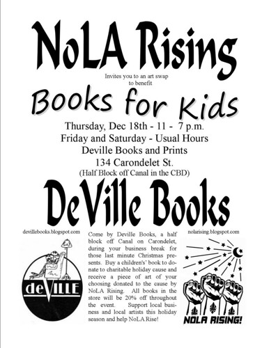 Deville Books and NoLA Rising