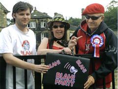 Gary, Boney and Captain (theblahparty) Tags: party captain blah gary boney melodie staniforth maroney spate sensibe