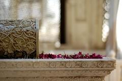 Poetry in marble (Madhu Gopalan) Tags: roses bokeh tomb p marble hyderabad pf 50mmf18 paigahtombs krishlikesit aadabhyderabad ilovehyderabad