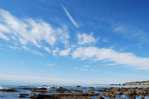 Beach sky
