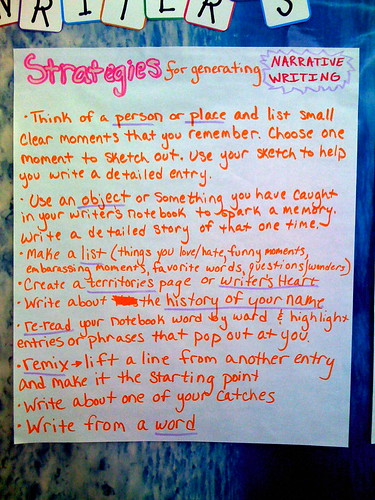 narrative writing strategies Student writing models how do i use student models in my classroom  narrative writing a cowboy's journal fictionalized journal entry  our monthly newsletter delivers innovative insights and classroom strategies for today's ela community and beyond sign up for free.