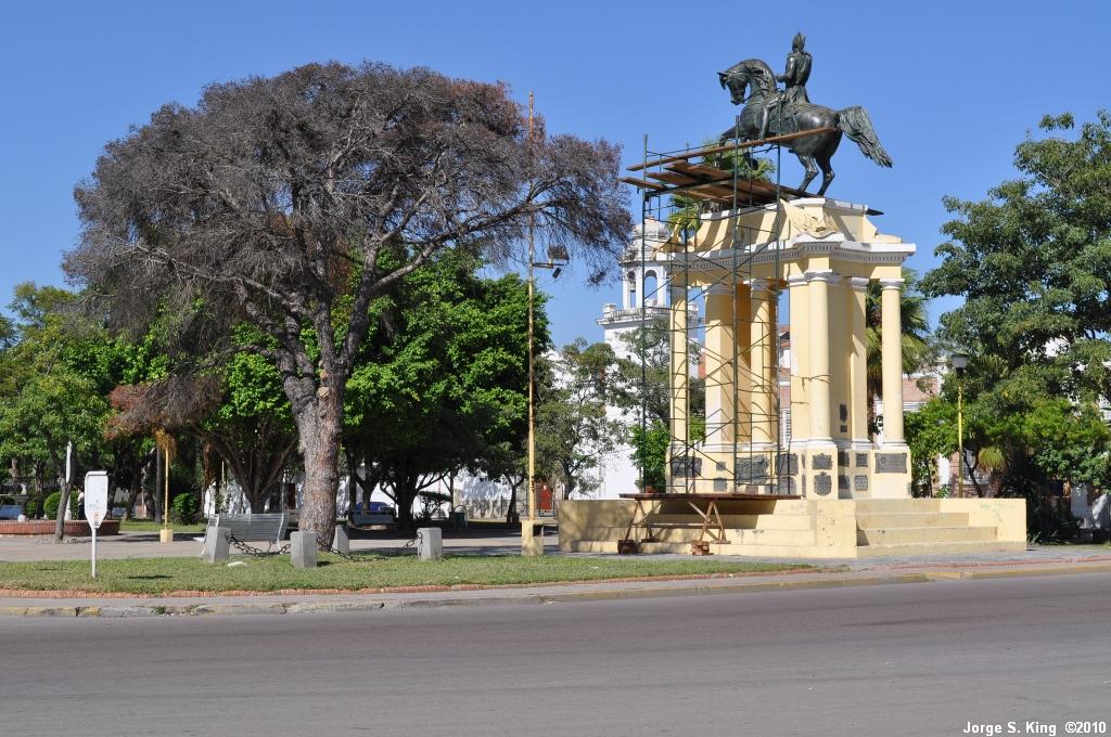 Restauración del Monumento a San Martín